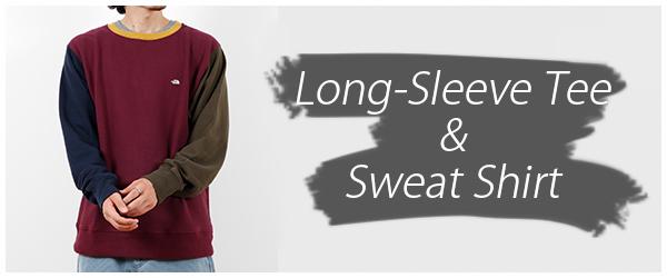 Long-Sleeve Tee & Sweat Shirt